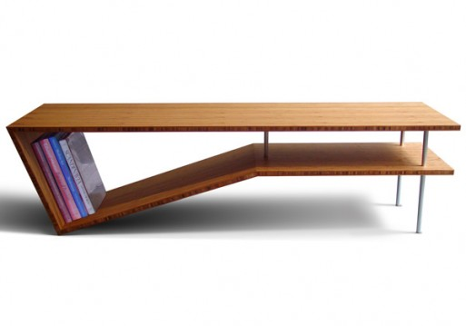Slim Slant Coffee Table
