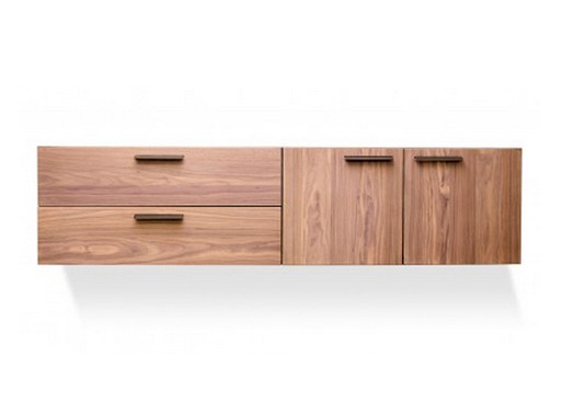 Shale 2 Door / 2 Drawer Wall-Mounted Cabinet