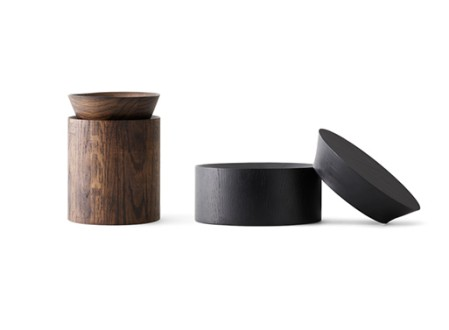 Wooden Bowls and Round Box