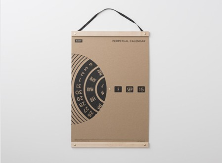 TAIT Design Co. Perpetual Wall Calendar