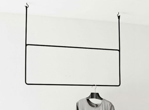 Clothing rail, Rectangular