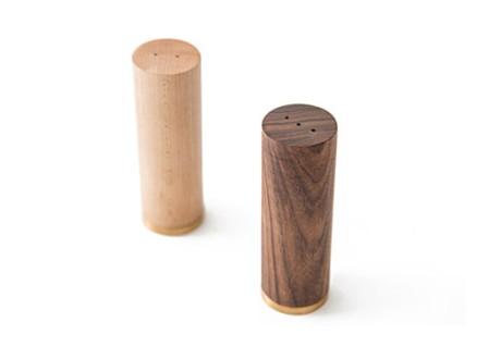 Wood Salt & Pepper Shakers by Tomnuk Designs