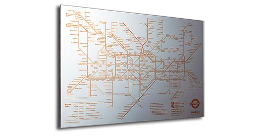 Tube Map Mirror (London Underground)