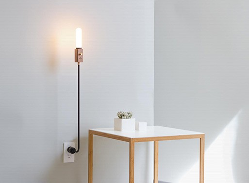 Wald plug lamp accessories better living through design wald plug lamp aloadofball Gallery