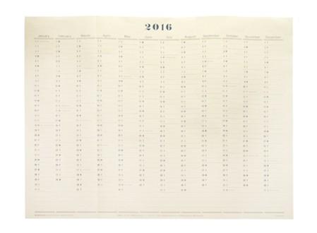 Postalco Wall Calendar 2016