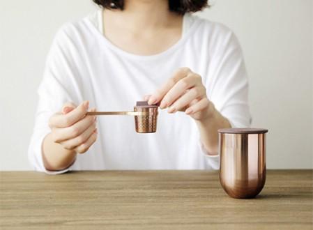 Weaver Tea Jar and Infuser set