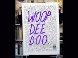 Woop Dee Doo Tea Towel by Tom Polo
