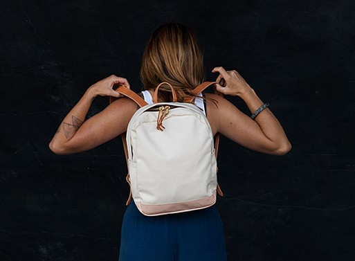 acc670743524 Zip Backpack by Joshu+Vela — Bags -- Better Living Through Design