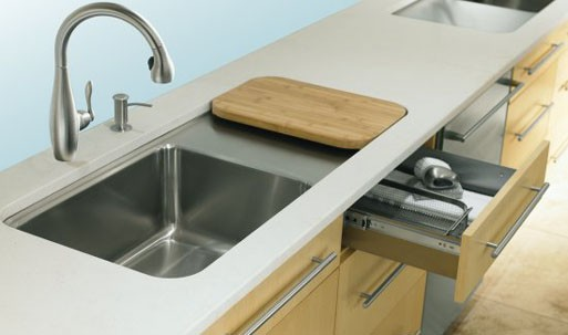 Prologue Kitchen Sink w/Work Surface