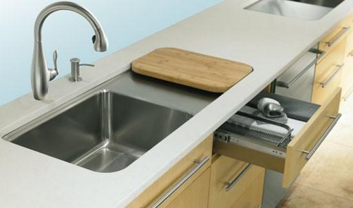 Prologue Kitchen Sink w/Work Surface