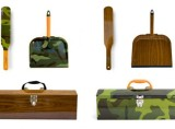 Alice Supply Co: Camo and Woodgrain Toolbox and Dustpan