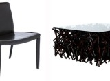 Andrew Chair and Twig Coffee Table (Sale)