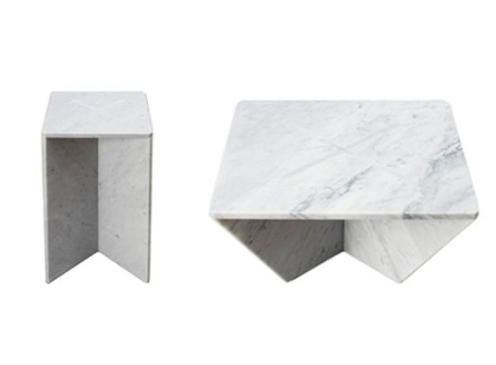 Annex Marble Coffee and Side Tables