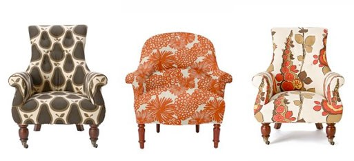 Astrid and Cleo Upholstered Chairs