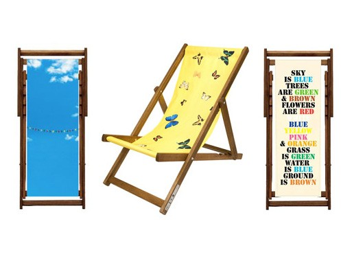 Artist Deck Chairs