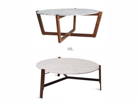 Atlas Coffee Table vs. Free Range