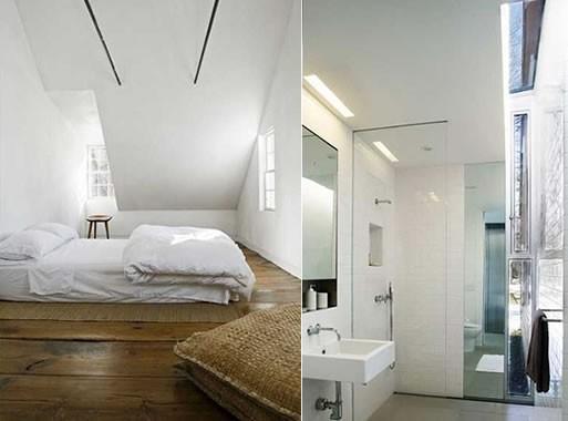Inspiring attic space