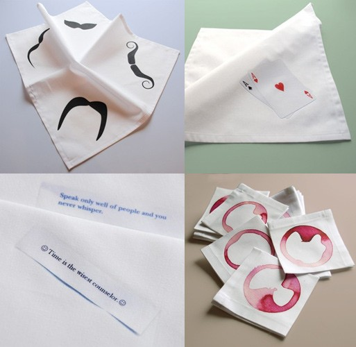Avril Loreti Napkins and Handkerchiefs