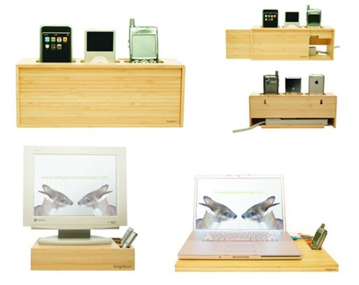 Bamboo Charging Stations
