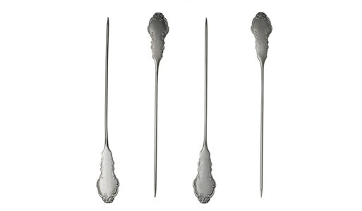 Baroque Skewers, set of 4