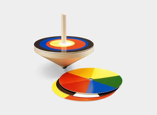 Bauhaus Spinning Top