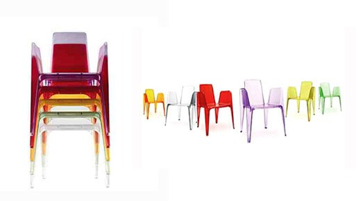Bella Rifatta stacking chair