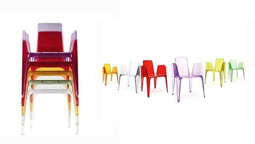 Bella Rifatta stacking chair