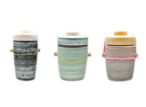 Segmented Jars by Ben Fiess