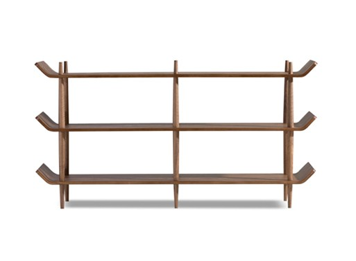 Bentwood Walnut Shelves