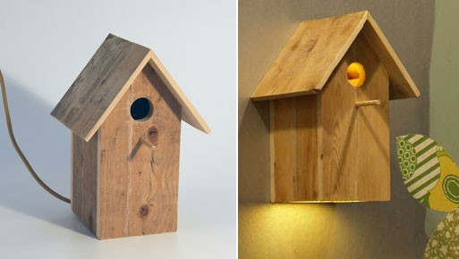 Birdhouse Lamp