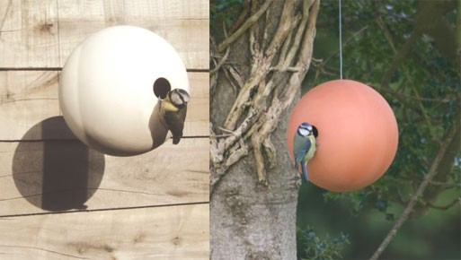 (Spherical) Bird Houses