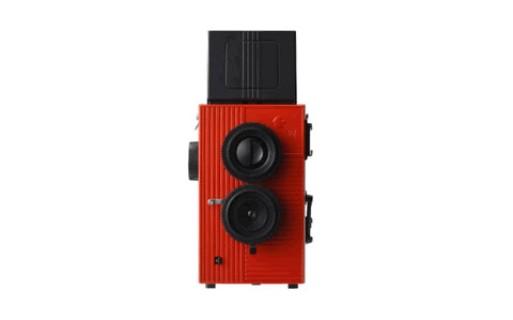 Black Bird Fly Twin Lens Reflex Camera