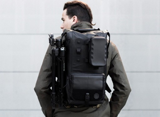 Black Ember Modular Urban Backpacks