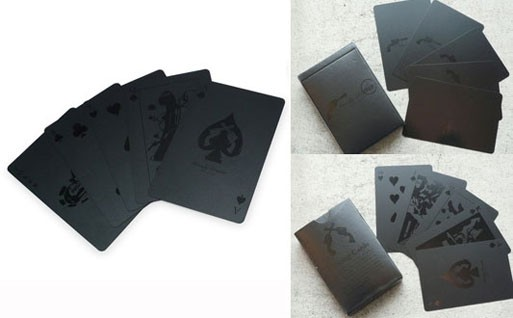 Black Deck of Cards