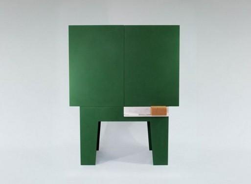 Blackboard Storage Cabinet by Peter Jakubik