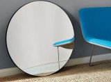 Blackened Metal Mirror by West Elm
