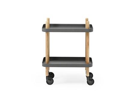 Block Table Cart