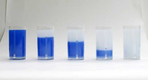 Water is Blue Glass