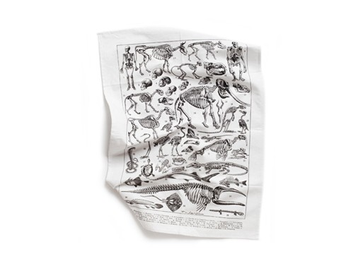 Les Squelettes Tea Towel