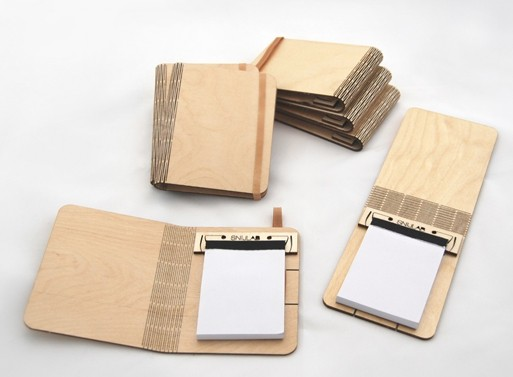 Booklets Wooden Notebook