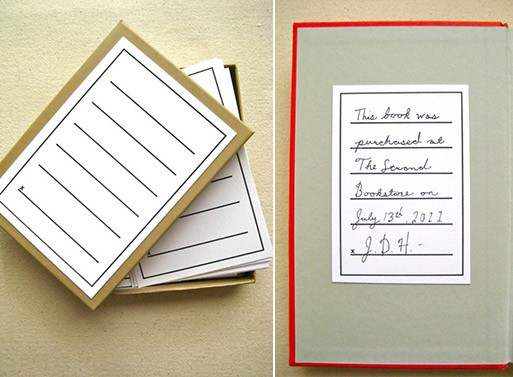 Fill-in-the-Blanks Bookplates