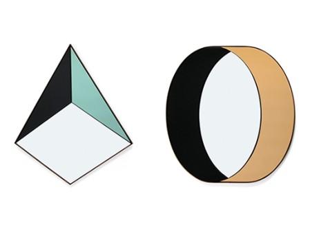 Pyramid and Ring Shape Mirrors