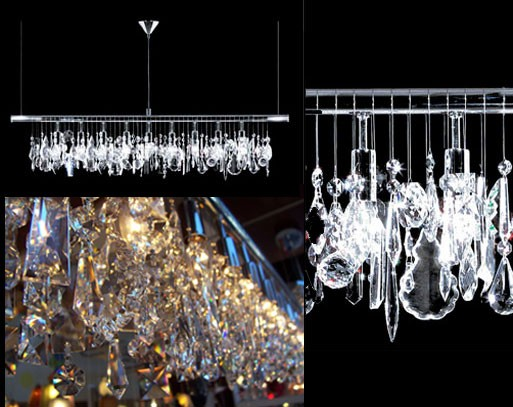 Broadway Linear Crystal Chandelier by James R. Moder — ACCESSORIES ...