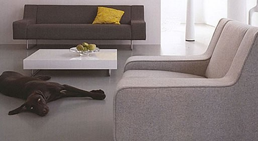 Brown Sofa by Palau
