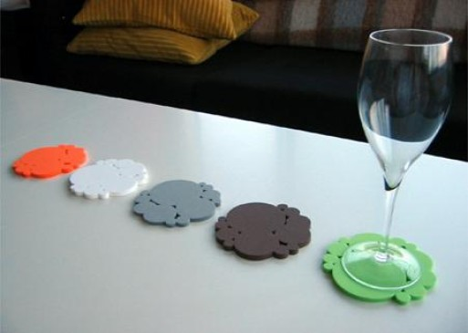 PUBLIQUE LIVING EVA BUBBLE COASTERS