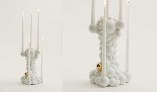 Bubbles Candle Holder
