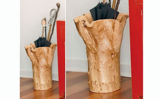 Fir Wood Umbrella Stand