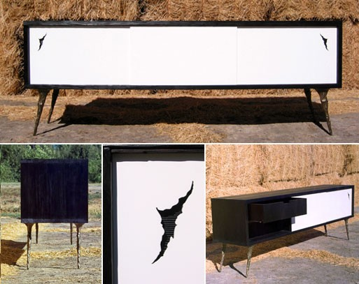 Burnt Credenza 07, A Numbered Edition by Rob Zinn