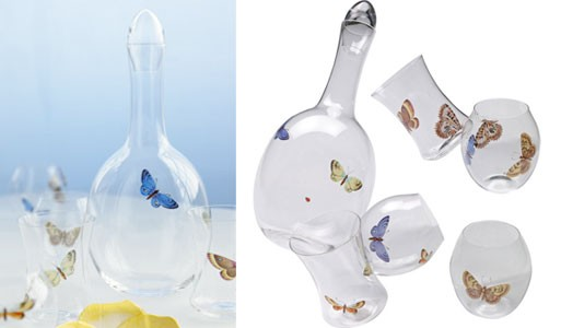 Crystal Barware by Ted Muehling