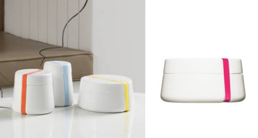 Cammeo Collection Ceramic Containers
